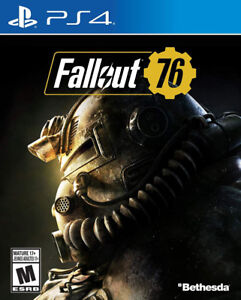 Fallout 76 - PS4 - New/Sealed