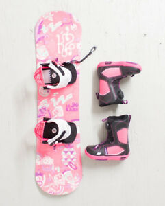 K2 GIRLS GROM PACKAGE COMPLETE SIZE: BOOT SIZE 2 US OU 3 US