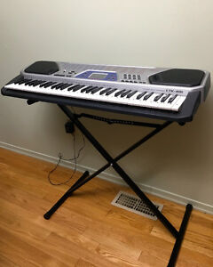 For Sale: Casio CTK 481 Keyboard & Stand