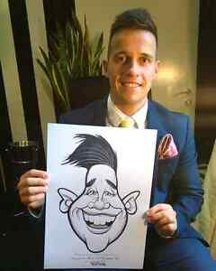 the wedding Art caricature  West Island Greater Montréal image 10