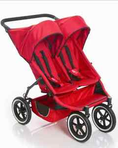 Phil & Teds E3 Twin Stroller