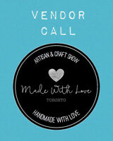 VENDORS WANTED FOR ARTISAN & CRAFT SHOW