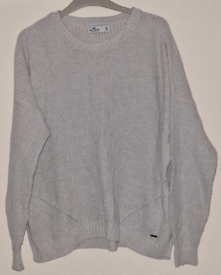 Ladies Hollister Knitted Jumper Size Medium