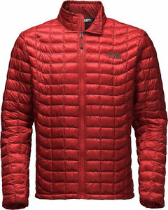 Northface Thermoball Jacket Cardinal Red *Mint Condition*