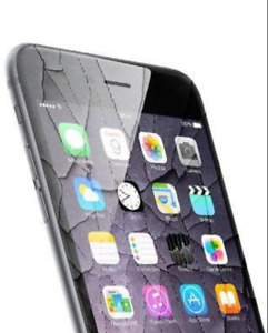 iPhone 6 .. 6s .. 6+ .. 6s+ Screen Broken Repair $59 + Free Case