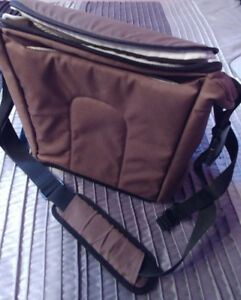 2 in 1 booster & diaper bag