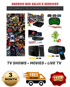 New Android TV Box (Sackville)