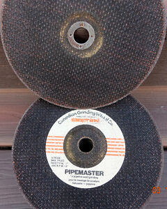 Grinding Disc's--- 9 inch x 1/8th Strathcona County Edmonton Area image 1