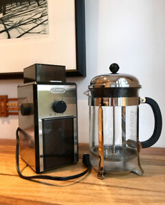Coffee Grinder & French Press