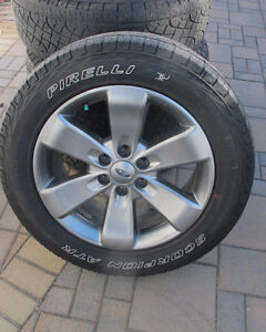 275 55R20 tires on Ford F150 OEM rims