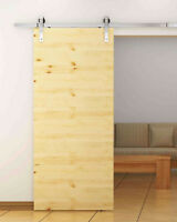 GO BIG with huge barn door hardware - up to 13 feet