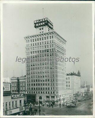 1938 Walker Bank And Trust Co Salt Lake City Original News Service Photo