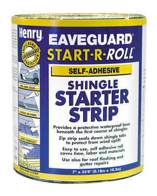 Henry 7.5 Ft. W X 33.3 Ft. L Start-a-roll Shingle Starter Strip