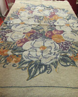LARGE WOVEN TABLE COVER / CARPET REVERSABLE