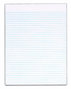 Lot of 10 lined paper writing pads Brand new