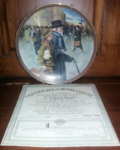 3 Rockwell Plates - Boy Scouts London Ontario image 3