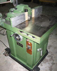 3-HP Sliding Table Shaper (LS-320) with Co-Matic Stock Feeder