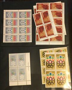 Large collection of Canada mint stamps, sheets and blocks