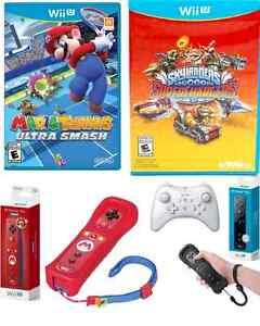 Wii U Mario Tennis / Motion Plus Wii U / Pro Controller 30$ et+