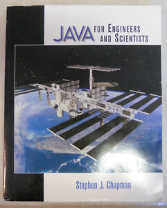 Java for Engineers and Scientists by Stephen J. Chapman