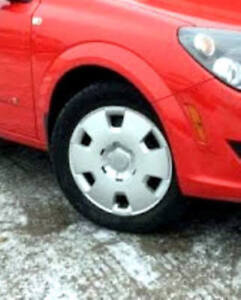 "FOR SALE – Two 16"" Wheelcovers"