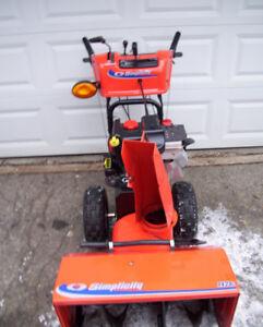 "Simplicity snowblower heavy duty series 28"" 1428L Briggs 305 cc"