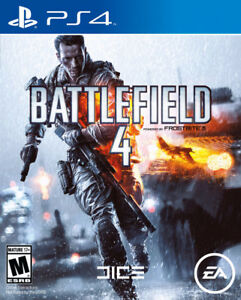 PS4 Battlefield 4 excellent condition.