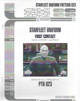 Starfleet uniform first contact pattern