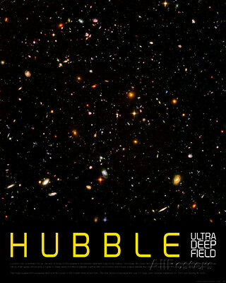 Hubble Ultra Deep Field Art Print   24X30