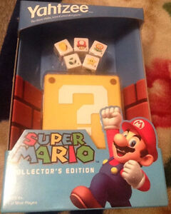 Super Mario Collector's Edition Yahtzee SEALED New