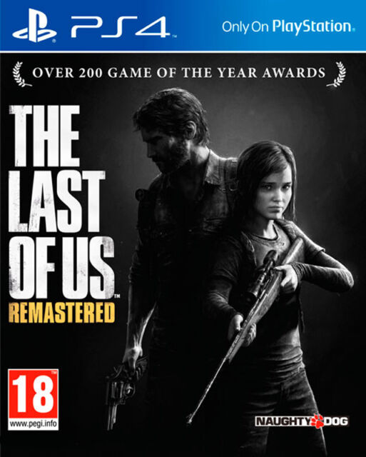 THE LAST OF US REMASTERED PS4 BRAND NEW SEALED OFFICIAL UK PAL