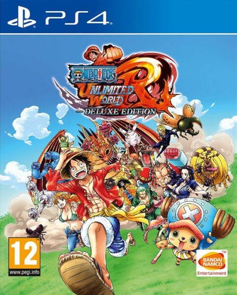PS4 One Piece: Unlimited World Red - Deluxe Edition (brand new)