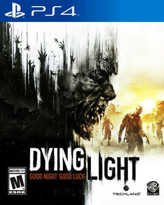 """DYING LIGHT WITH """" BE THE ZOMBIE """" DLC  PS4 MINT !!"""