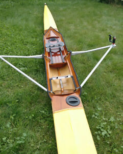 Single rowing scull wanted