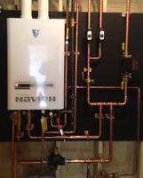 COMBI BOILER & TANKLESS WATER HEATER SALE WITH $1500.00 REBATE