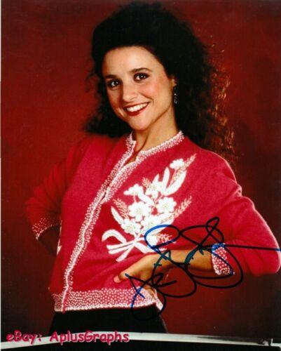 JULIA LOUIS-DREYFUS.. Seinfeld's Elaine Benes - SIGNED