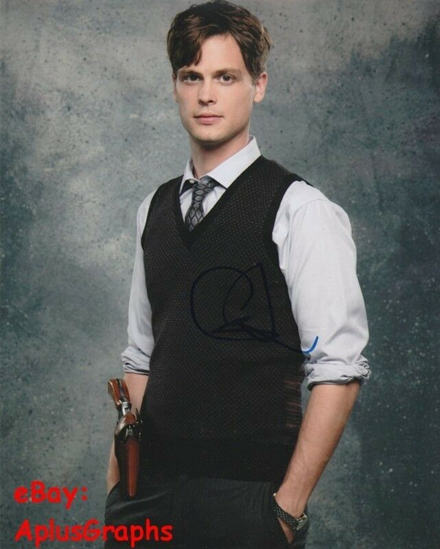 MATTHEW GRAY GUBLER.. Criminal Minds Spencer - SIGNED
