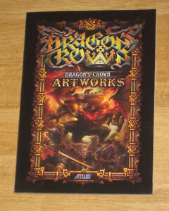 DRAGON'S CROWN ( PS3 PSP game ) ART BOOK