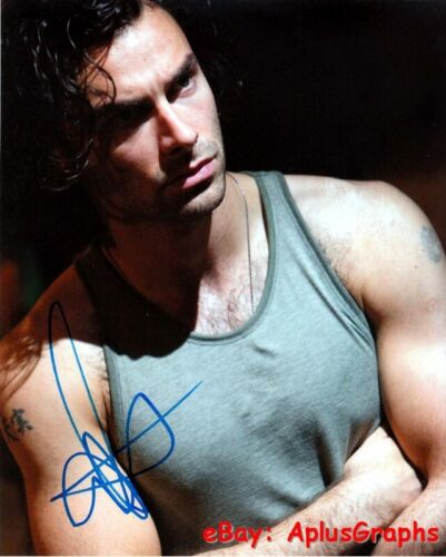 AIDAN TURNER.. Handsome Charmer (Being Human) SIGNED