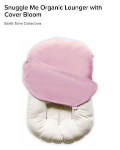 Snuggle Me Organic Lounger with Cover Bloom