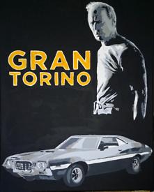 Clint Eastwood Gran Torino artwork