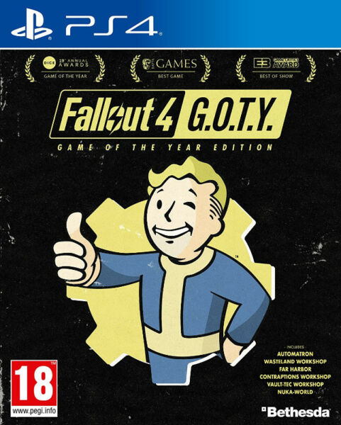 PS4 Fallout 4 - Standard / Game of the Year / Pip-Boy Collector's Edition