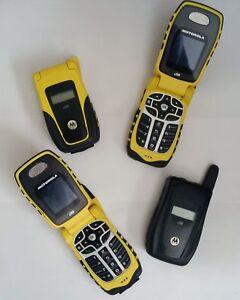4 Motorola i560 phones locked to Telus for $30 (for all 4) Kitchener / Waterloo Kitchener Area image 1