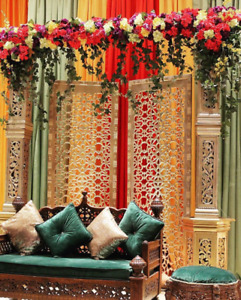 South Asian Wedding Decor - Backdrops, Mandaps, Sangeet, Shaadi