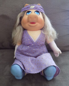 Miss Piggy, Poupée, Doll, 1980