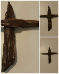 Rustic Driftwood Cross