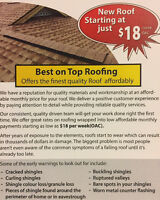 Affordable quality roofs from Best on Top Roofing
