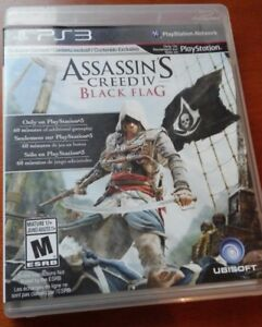 Assassin's Creed IV Black Flag PS3 Longueuil