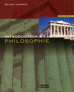 Introduction à la philosophie, 2e éd. Laramée, Hélène