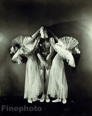 1935 Vintage NEW YORK CITY BALLET Dance Large 13x10 Photo Art GEORGE PLATT LYNES